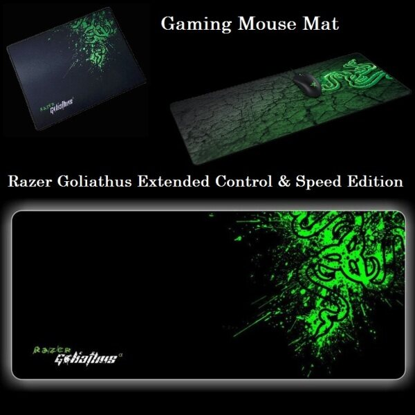 Razer Goliathus Large Control Speed Edition Soft Gaming Mouse Mat - Mouse Pad for Professional Mousepad Malaysia