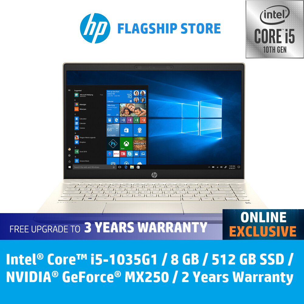 HP Laptop Pavilion - 14-ce3051tx - Intel 10th Gen Processor **ONLINE EXCLUSIVE** [FREE Upgrade to 3 Years Warranty, Delivery & Backpack][FREE Redemption : Microsoft Office 365 Personal worth RM499 [20 Dec - 15 Feb 2020] Malaysia