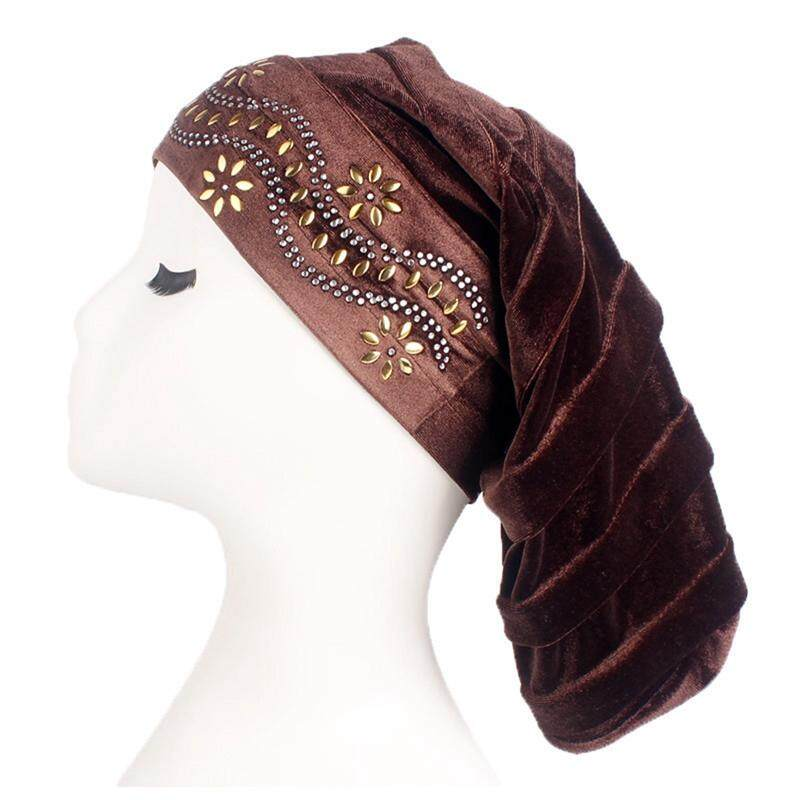 SYS Women Muslim Turban Hat Chemo Cap Lace Head Wrap Scarf Cover Hijab