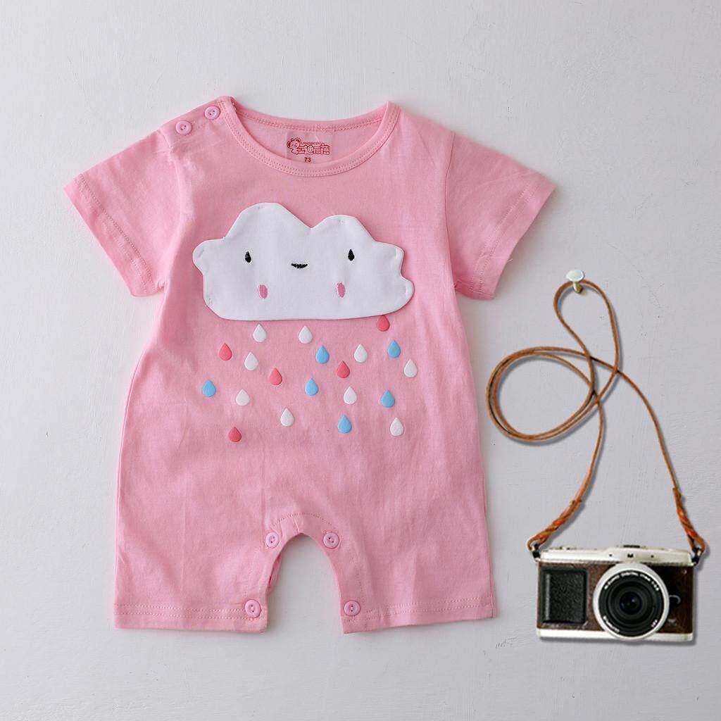 BabyTS_Newborn แจ๊คเก็ตทารกเด็กชายเด็กหญิงการ์ตูนชุดเด็กทารกชุดจั๊มพ์สูทเสื้อผ้า (0-6 เดือน) เสื้อผ้าเด็กอ่อนจัดส่งฟรี