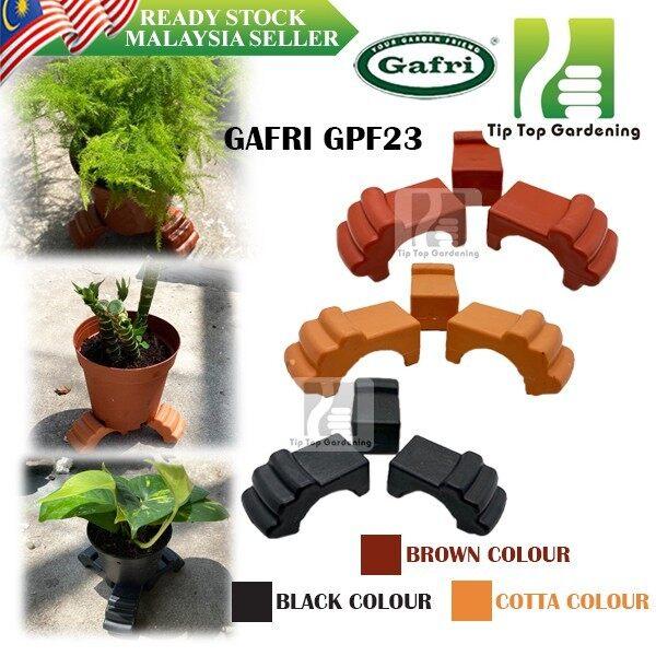 GAFRI GPF23 Gardening Plastic FLOWER Pot Feet ( Pack Of 3 ) KAKI PASU BUNGA DECO TOOLS