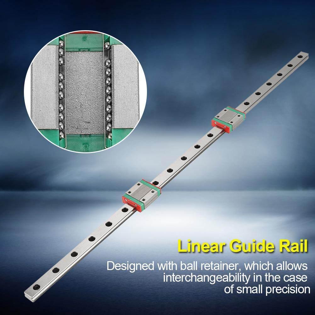 1pc 500mm MGN12 Miniature Linear Rail Guide Rail 12mm Width + 2pcs MGN12B Slide Blocks
