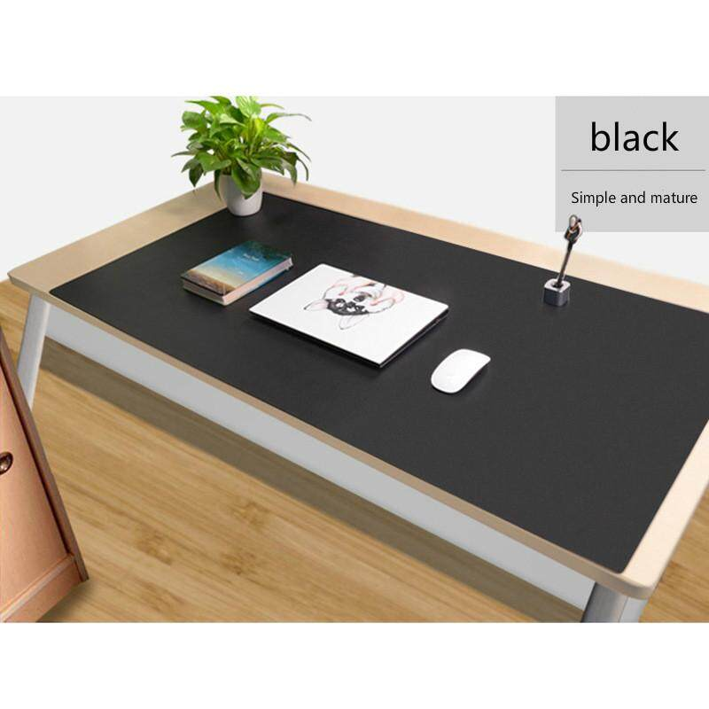 30x60 40x80 45x90 60x120 Cm Large Solid Color PU Leather Mouse Pad Office Table Business Mousepad for PC Laptop Gaming Mousepad Desk Mousepad Malaysia
