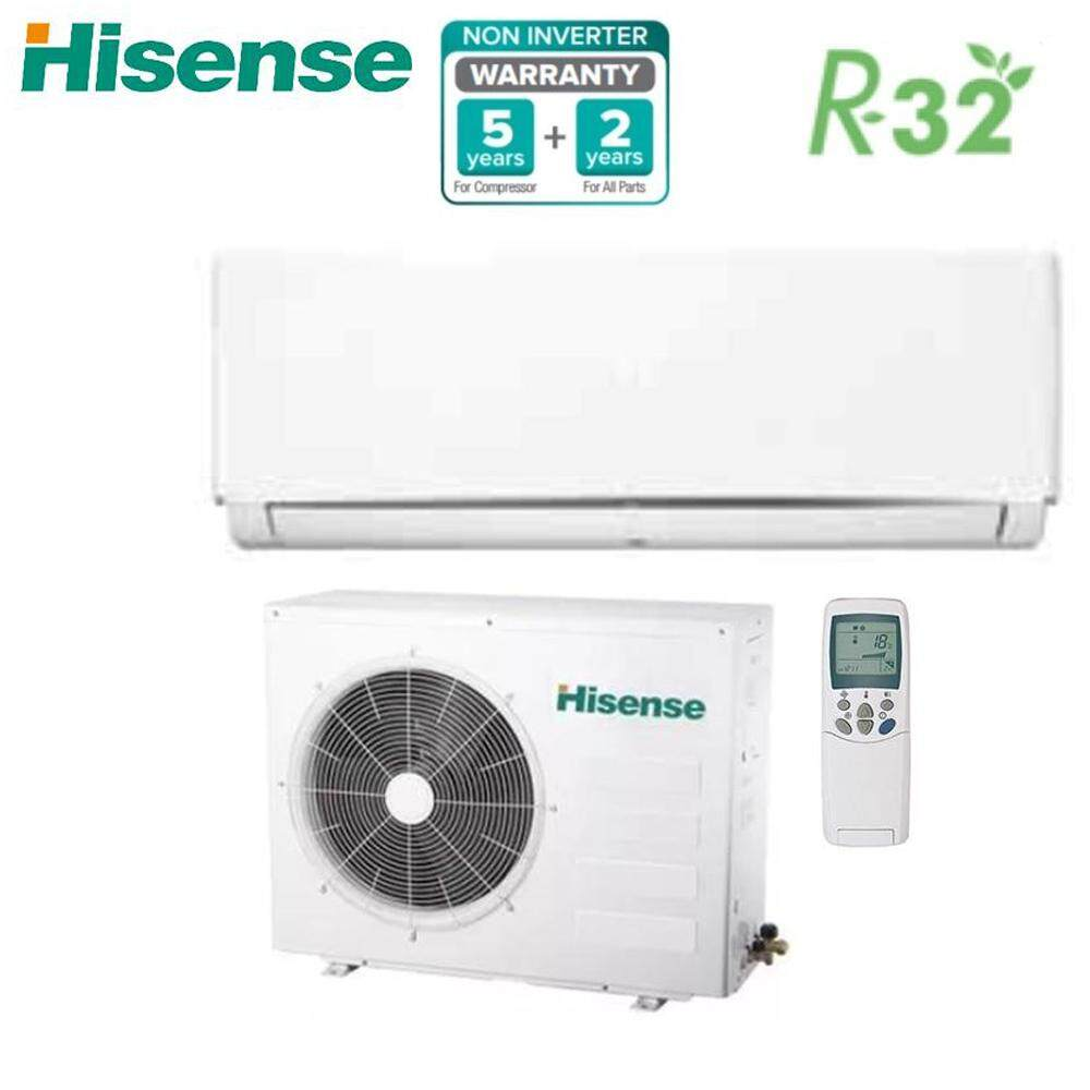 Hisense 1 0hp Air Conditioner, Non-Inverter R32, DB series AN10DBG