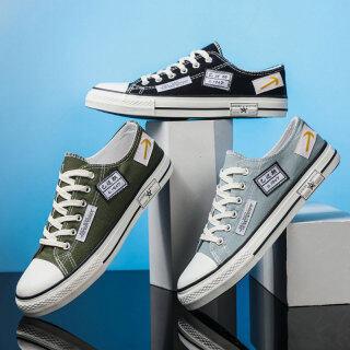 EG Giày Vải, Giày Nam Sinh Viên, Giày Thường Ngày Cổ Thấp Thoáng Khí Hợp Xu Hướng Giày Vải thumbnail