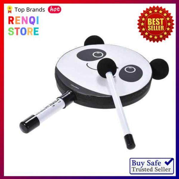 [SPECIAL OFFER] 6in Panda Tambourine Percussion Musical Instrument Toy Gift with Mallet for Baby Kids Children Malaysia
