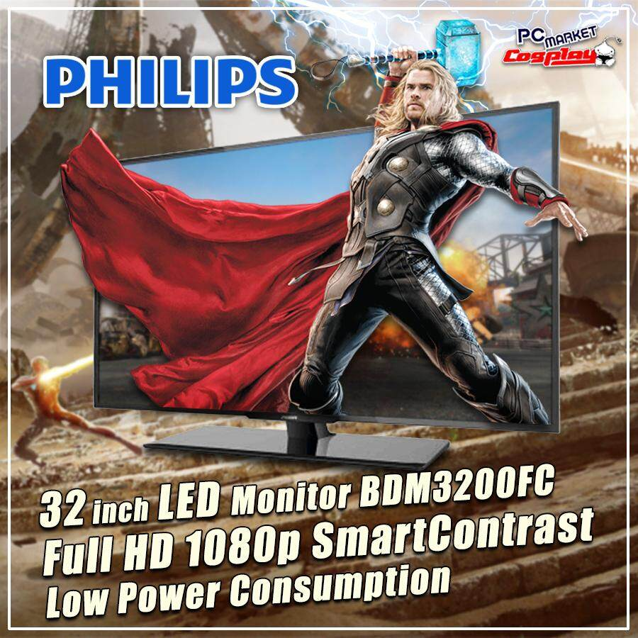 Philips BDM3200FC 32 inch LED-backlit LCD Display Computer Monitor (Refurbished) Malaysia