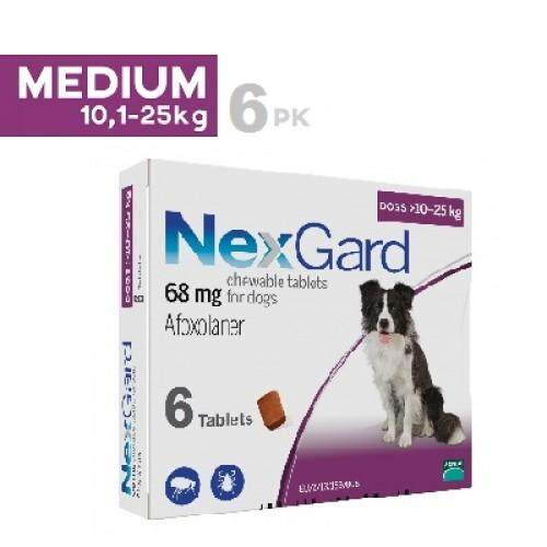 Nexguard Dog (tick/fleas Prevention For Dogs) >10-25kg By Premium Pets Outlet [ppo].