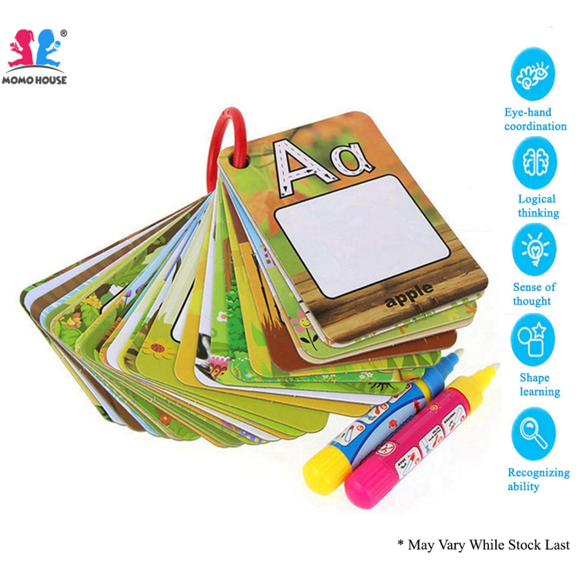 Learning Education Buy At Best Price In Electronics For Kids Simple Circuits The Resources Of Islamic Momo House Magic Water Card Alphabet Version Writing Spelling Vocabulary
