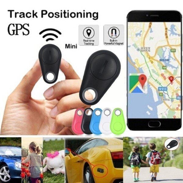 Thông Minh GPS Tracker Mini Vật Nuôi Xe Trẻ Em GPS Định Vị Thiết Bị Theo Dõi GPS Xe Thời Gian Thực Thiết Bị Tìm Ví Chìa Khóa Bluetooth 4.0 Không Dây