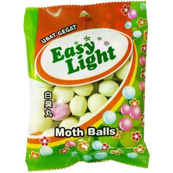 EASYLIGHT Ubat Gegat / Moth Balls 130gm Colour