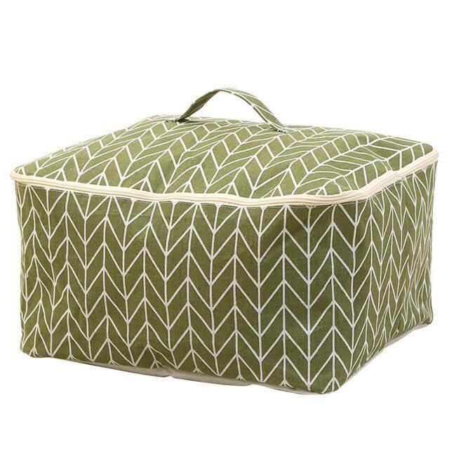 waterproof Linen Folding clothing organizer home Large capacity toys quilt storage box high quality storage bin 47*40*22cm