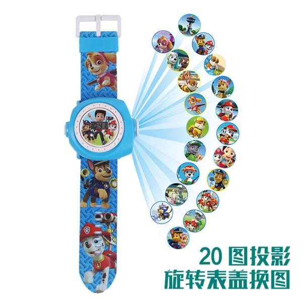 Childrens toys projection watch ultraman cartoon digital watches wang wang team iron man ice colors pony bao li Malaysia