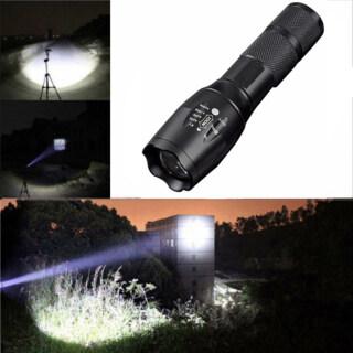 1 Đèn Pin LED, Đèn Pin Zoom LED E17 XML Không Thấm Nước Ngọn Đuốc 3800Lm , 5 Chế Độ Sáng thumbnail