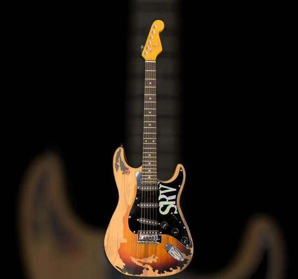 Budget Guitar Shop Fender Stratocaster Stevie Ray Vaughan Signature Series Copy Malaysia