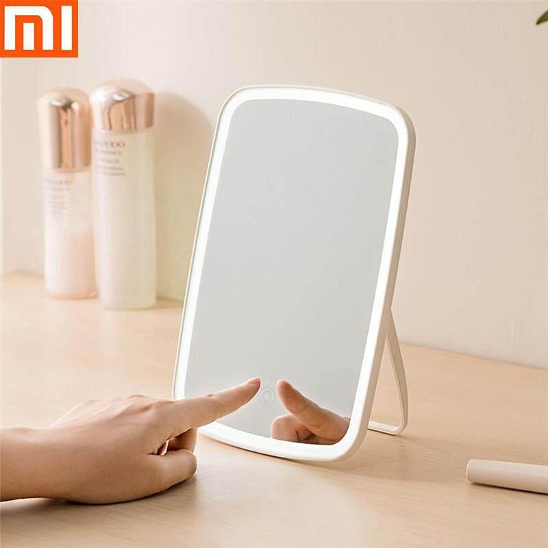 Di Động Gương Trang Điểm Để Bàn LED USB Sạc Gấp Cảm Ứng Âm Trần Đèn Ký Túc Xá Nhà Từ Xiaomi Youpin giá rẻ