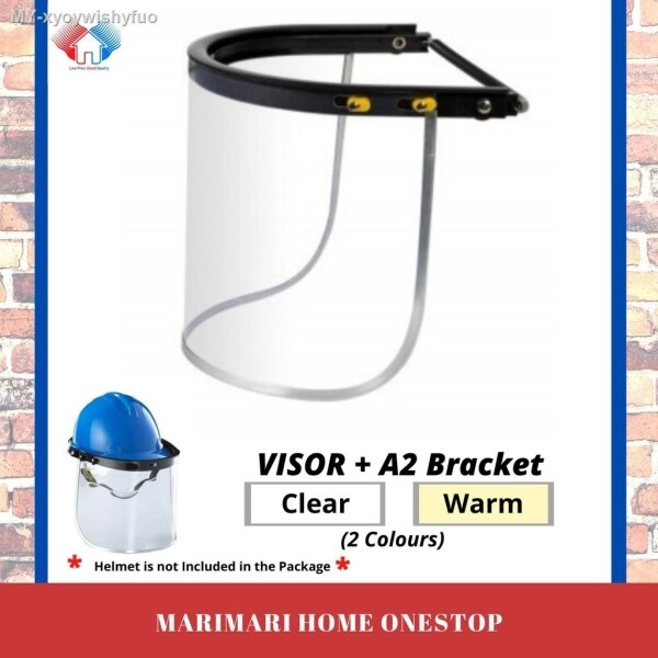 Liftable Face Shield - Visor and A2 Bracket For Safety Helmet