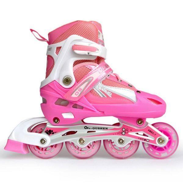 Mua Dành Cho Người Lớn Giày Trượt Patin Có Thể Điều Chỉnh Trẻ Em Của Giày Trượt Pa-tanh Giày Trượt Pa-tanh Đèn Flash Đơn Giày Trượt Pa-tanh S =(27-31) M =(32-37) L =(38-41)