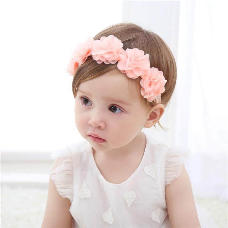 Newborn Kids Baby Girls Toddler Flower Headband Hair Bands Headwear AccessorieTB
