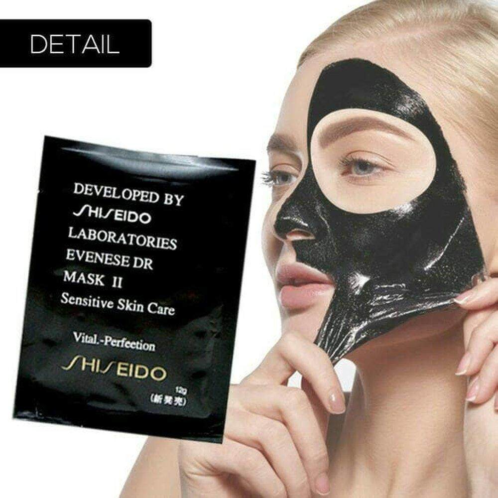 SHISEIDO BLACK MASK / Shiseido Blackhead Nose Remover FOR SKIN FACE 5 SACHETS