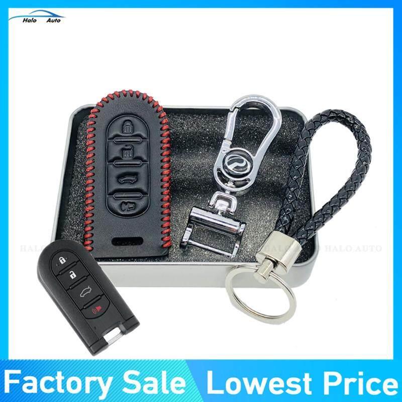 Readystock100% Genuine Leather Key Cover For Perodua Myvi / Axia / Bezza By Super-Market.