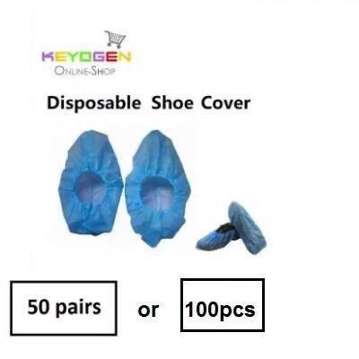 100pcs or 50 pairs keyogen Disposable Plastic Shoe Covers