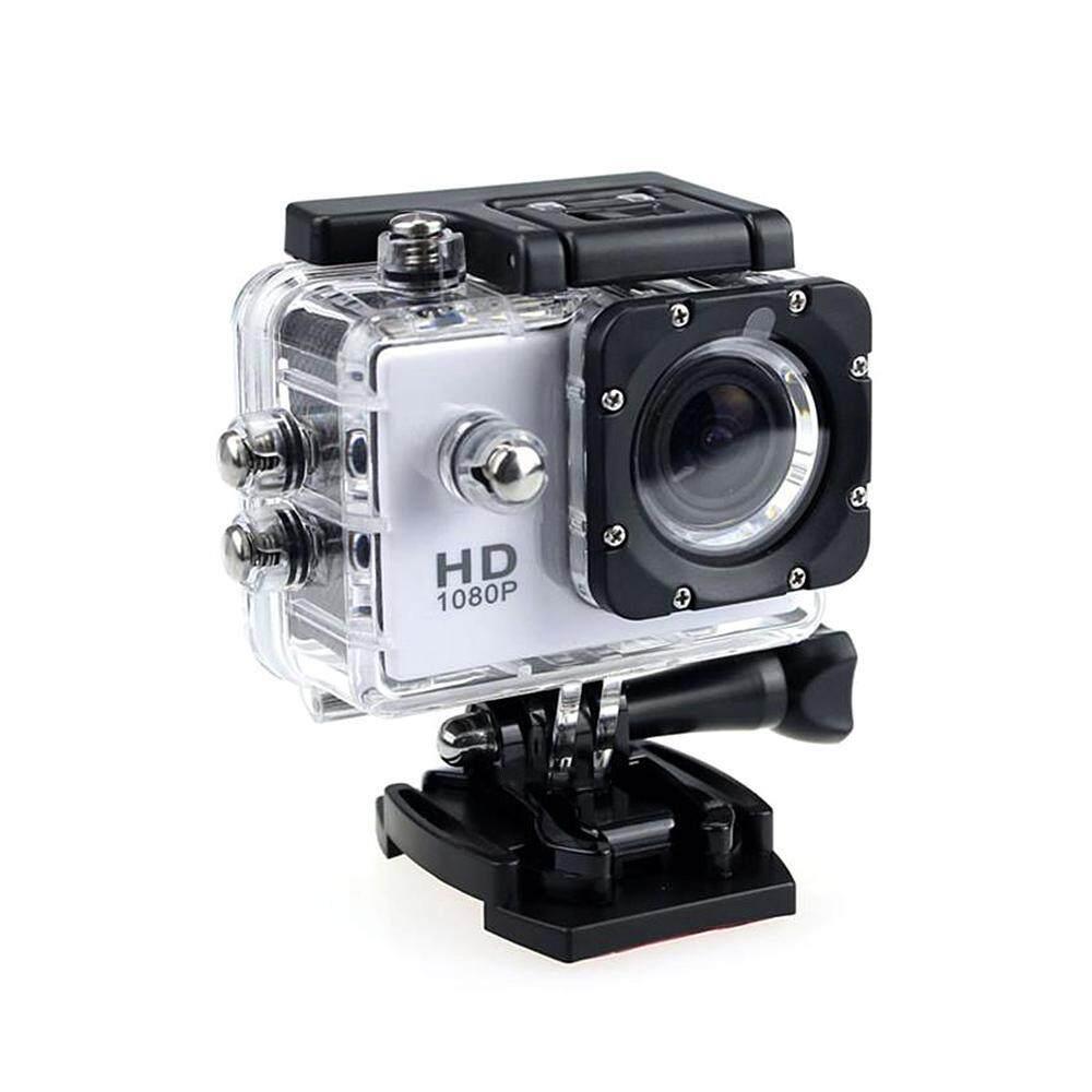 Auoker 4 K Kamera Aksi 16MP Underwater Kamera Tahan Air 30 M 110°wide-Sudut  Kamera Olahraga dengan 2.4G Pengendali Jarak Jauh dengan 2 batterr 2.0 'LCD Ultra HD dan Aksesoris Dudukan Kit (59*41*24.5 Mm)