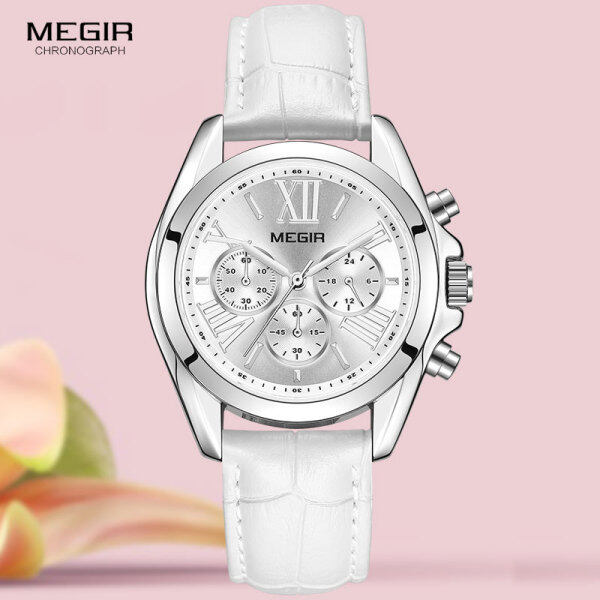 Hot MEGIR Fashion Drsess Womens Watch Top Brand Luxury Lady Quartz Watch Clock Fashion Casual Watch Couple Relogio Feminino. Ms. gift Malaysia