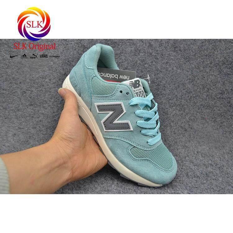 การใช้งาน  ขอนแก่น SLK เดิม★รูปภาพจริง NEW BALANCE/NB W1400CHB ligh Blue สำหรับสตรีวิ่ง shoe35-39