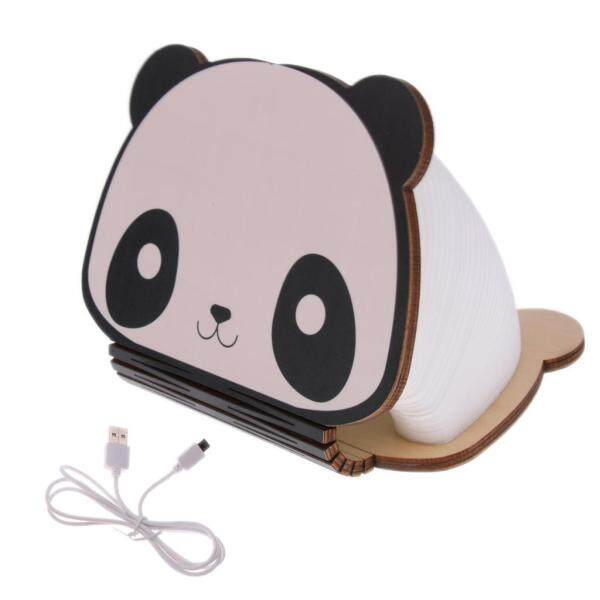Fityle LED Folding Book Lamp USB Rechargeable Foldable Desk Booklight Colorful