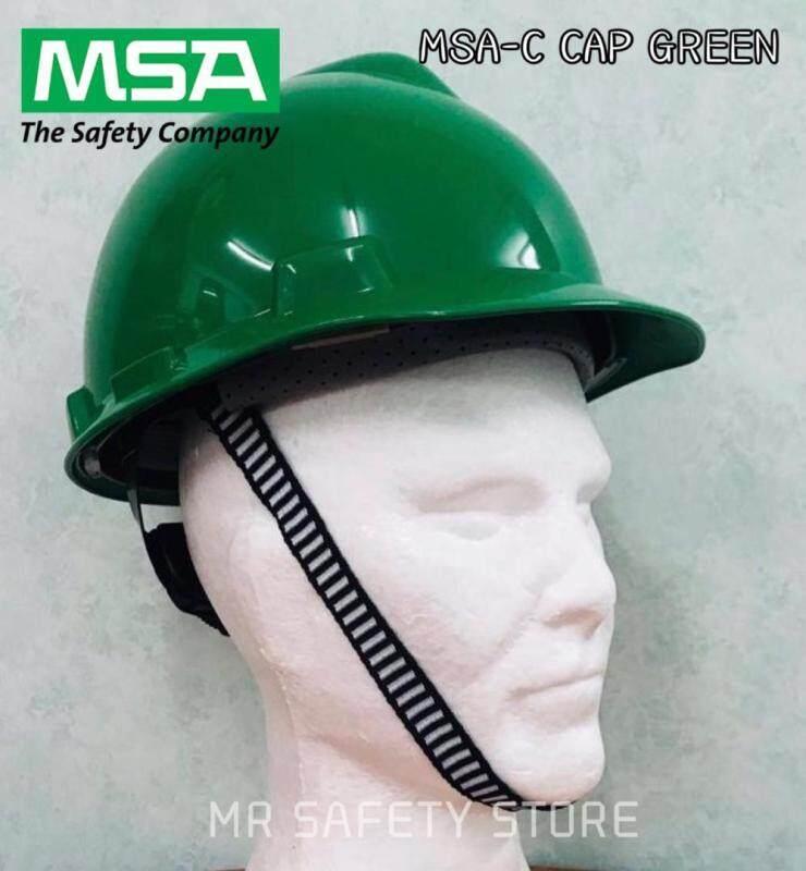 MSA V-Gard Protective Cap - Green (Original China)