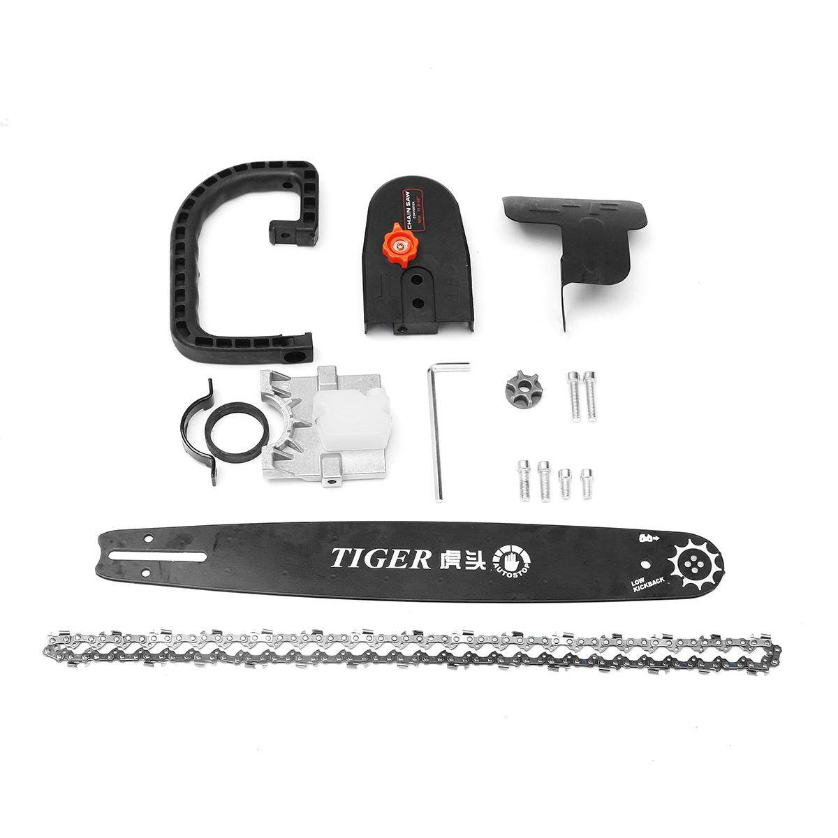 Drillpro Upgrade 5th 16 Inch Chainsaw Bracket Change 100 Angle Grinder Into Chain Saw