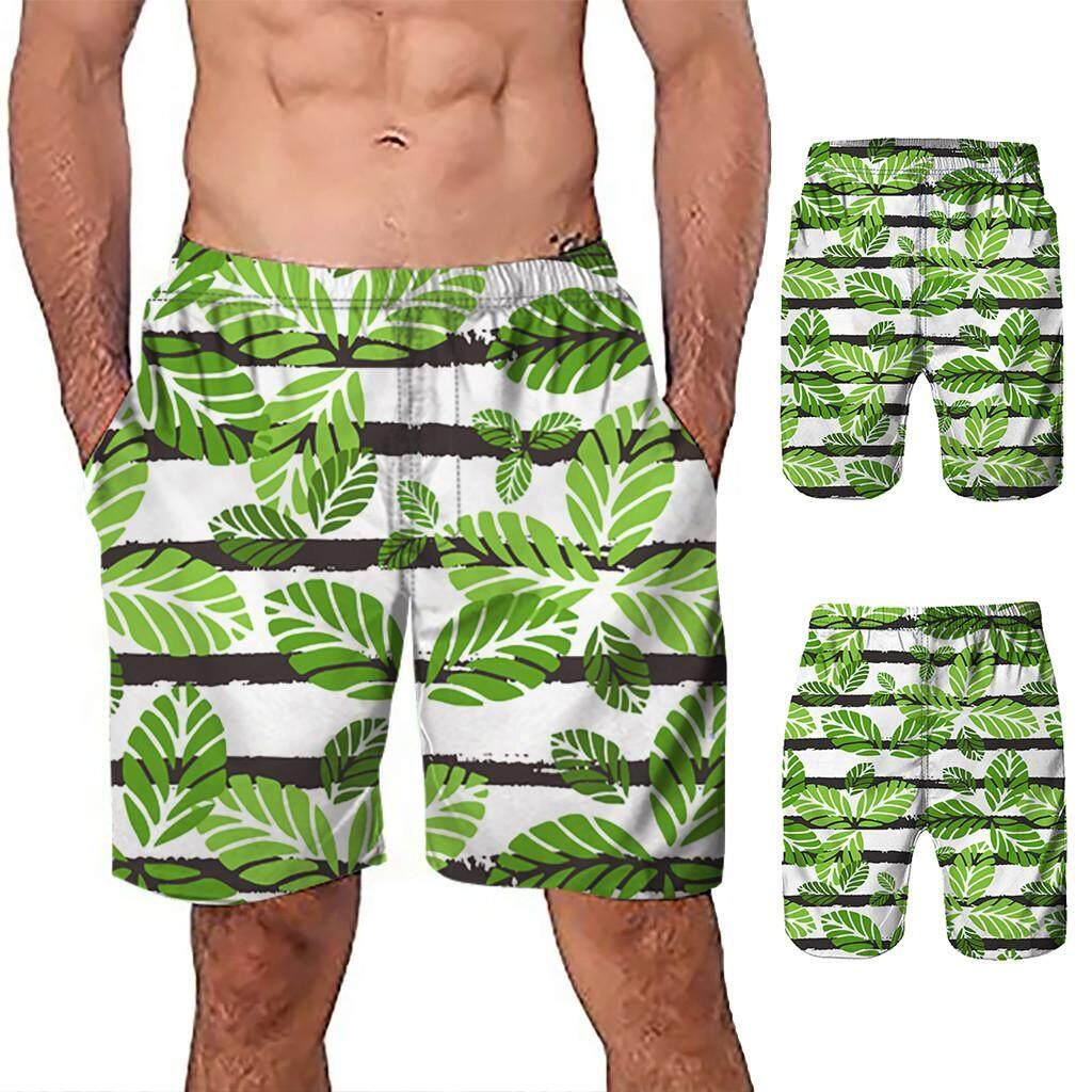 Mobilone Men Casual 3d Graffiti Printed Beach Work Casual Men Short Trouser Shorts Pants By Mobilone.