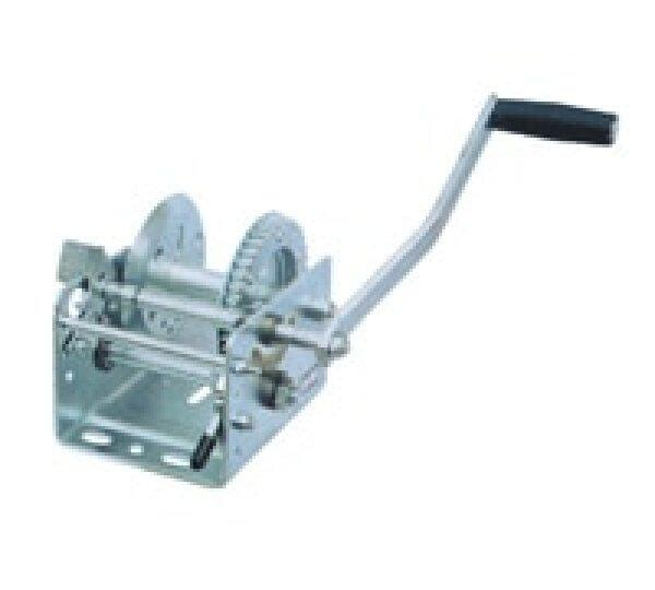 600---800lbs Boat truck auto hand manual winch without wire rope and hook, hand tool lifting sling