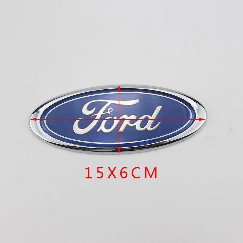15x5.9cm Tấm Dán Logo Phía Trước Cho Ford Cũ Mondeo Vị Trí Đầu Ô Tô Logo Màu Xanh Dấu Hiệu Dán Mark