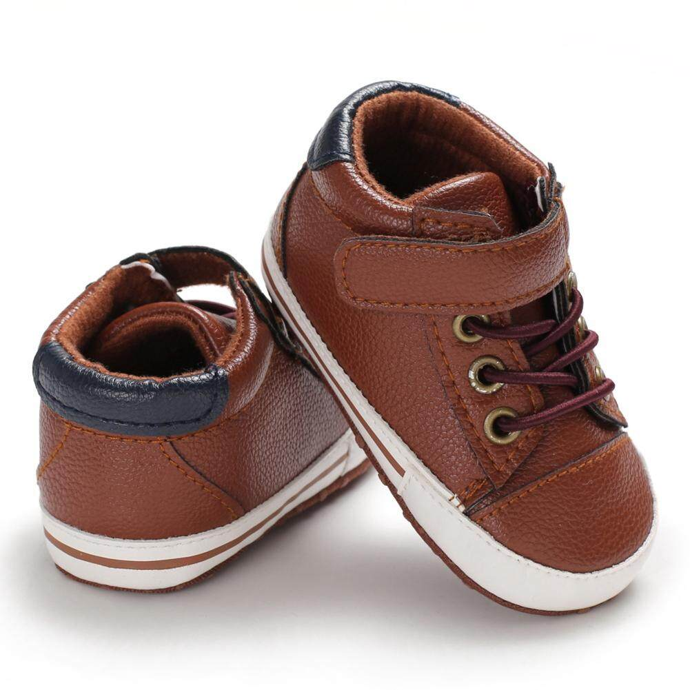 51dfba15fb66e Baby Boys PU Anti-Slip Shoes Casual Sneakers Toddler Soft Soled First  Walkers Baby Walking Shoes Baby Shoes Soft Sole Shoes Baby Shoes First  Walkers