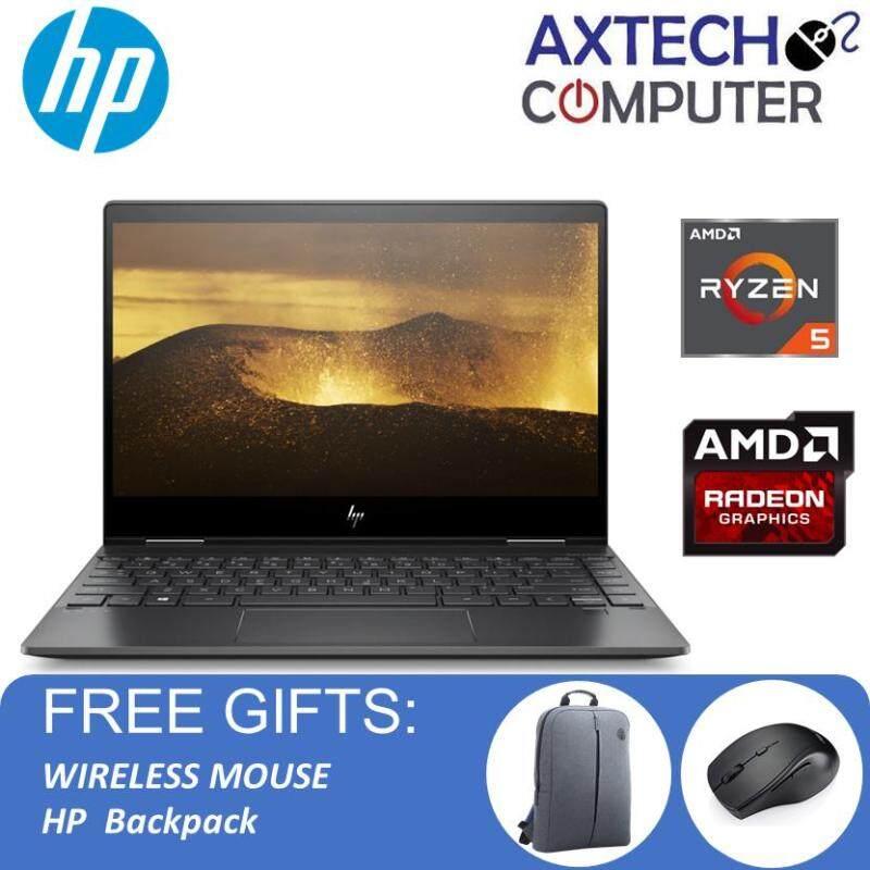 HP Envy X360 13-Ar0094AU 13.3  FHD IPS Touch Laptop Nightfall Black ( R5-3500U, 8GB, 256GB, ATI, W10 ) Malaysia