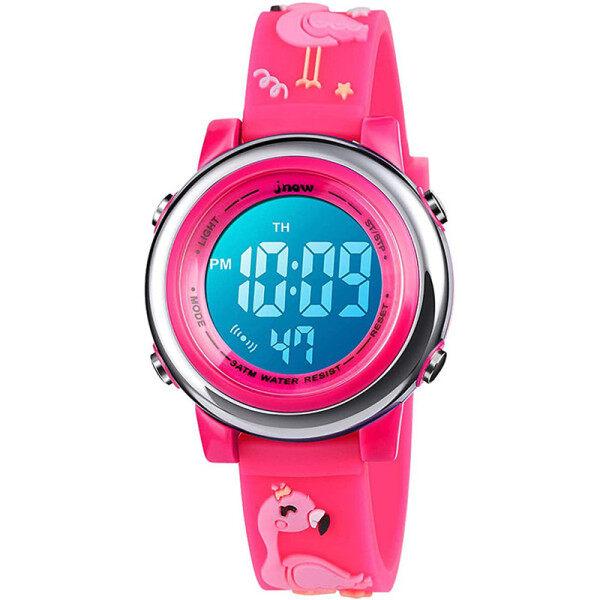 Childrens Unicorn Waterproof Digital Watch-Upgrade 3D Cute Cartoon 7 Color Lights Sports Outdoor Toddler Watch with Alarm Clock Stopwatch Boy Girl Kid-Best Gift Malaysia