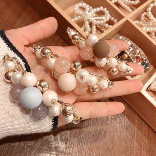 2020 New Hàn Quốc Dễ Thương Ngọc Trai Giả Kẹp Lò Xo Kẹp Tóc Rhinestone Barrettes Đối Với Thời Trang Nữ Phụ Kiện Tóc thumbnail