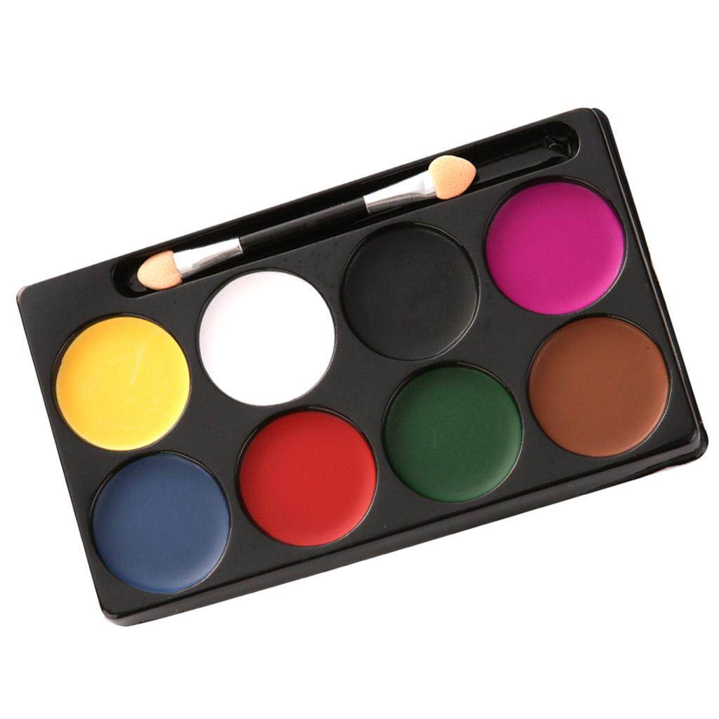 Fenteer CREATIVE PLAY FACE PAINTING KIT UNISEX FUN MAKE UP PARTY DRESS UP PAINT #1