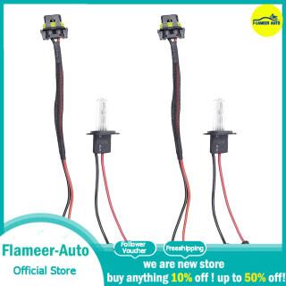 Flameer 2 Đèn Pha HID 12V 35W H1, Bộ Chuyển Đổi Bóng Đèn Xenon, 5000K thumbnail