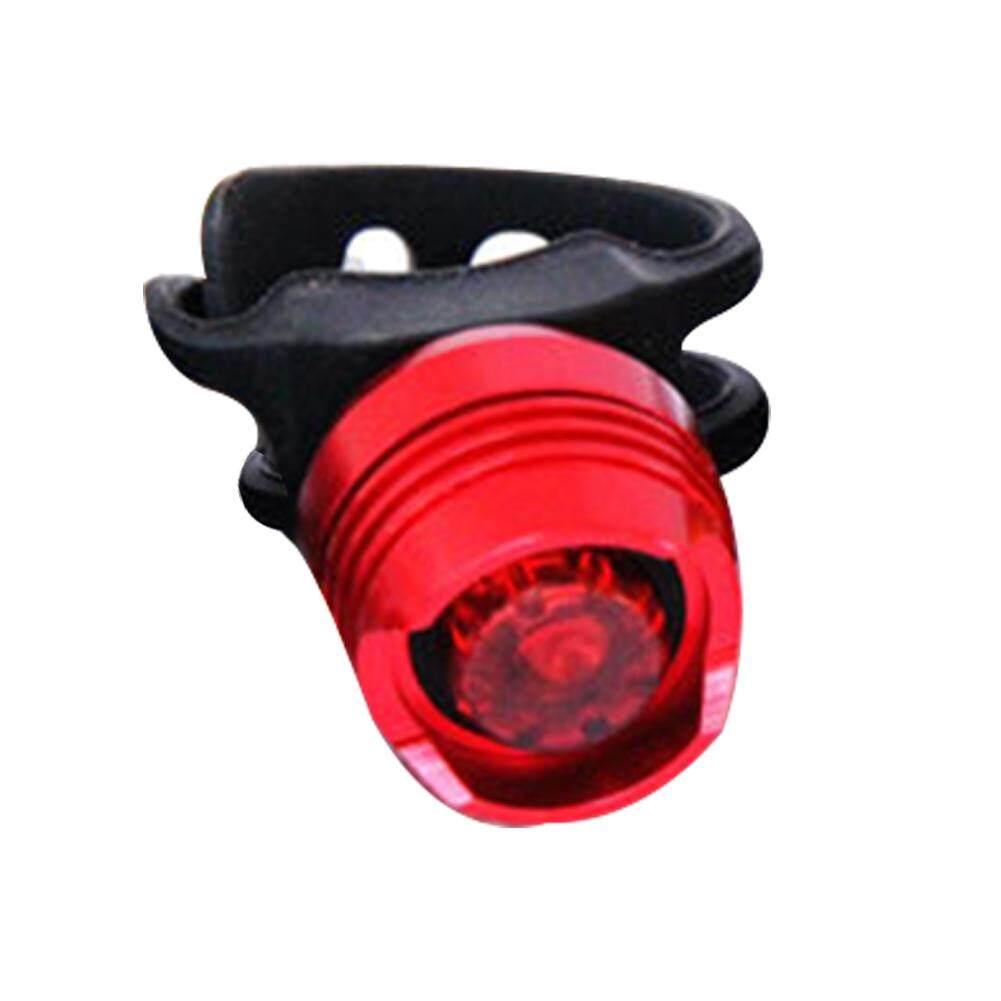 Aluminum Bicycle Rear Light Waterproof Helmet Tail Light Warning Bike Taillight
