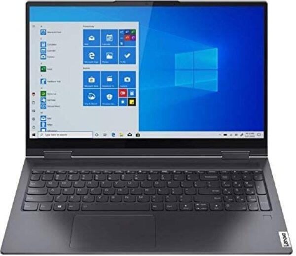 Lenovo Yoga 7i 2-in-1 15.6-inch FHD Touchscreen Premium Laptop PC, Intel Quad-Core i5-1135G7, Intel Iris Xe Graphics, 8GB DDR4 RAM, 256GB SSD, Backlit Keyboard, Windows 10 Home 64 bit, Gray Malaysia
