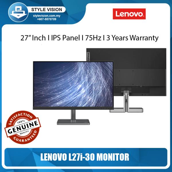 Lenovo L27i-30 - 27/ 75Hz /WLED / IPS / 3Years Warranty /Eye Caring Monitor Malaysia