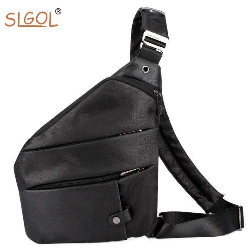 Sling Bag Chest Bag,  Cross body Shoulder Backpack Anti Theft Travel Bags Daypack for Men By SLGOL-direct