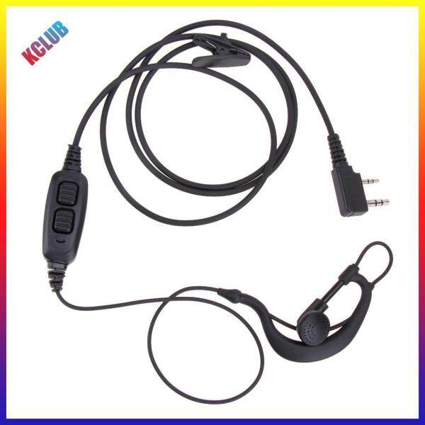 2 Pin Dual PTT Earpiece Headset Mic for Baofeng UV-82 UV-8D Walkie Talkies Singapore
