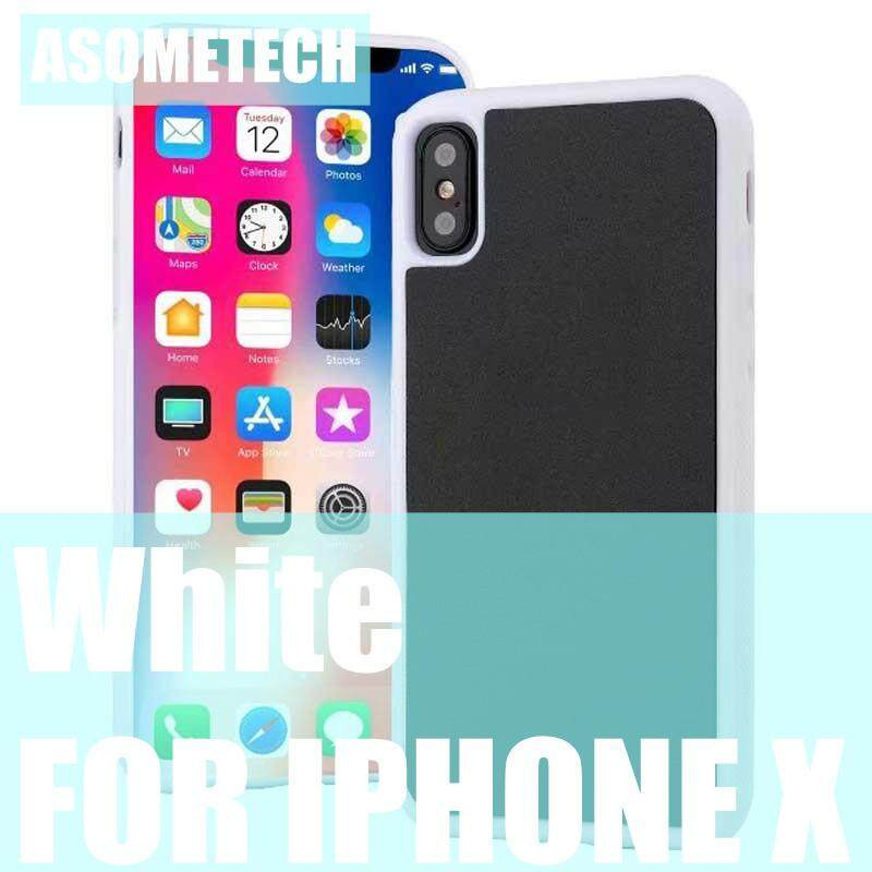 Anti Gravitasi Casing Ponsel untuk iPhone X Shockproof Case S Ajaib Nano Penutup Penyedot Terserap Cover