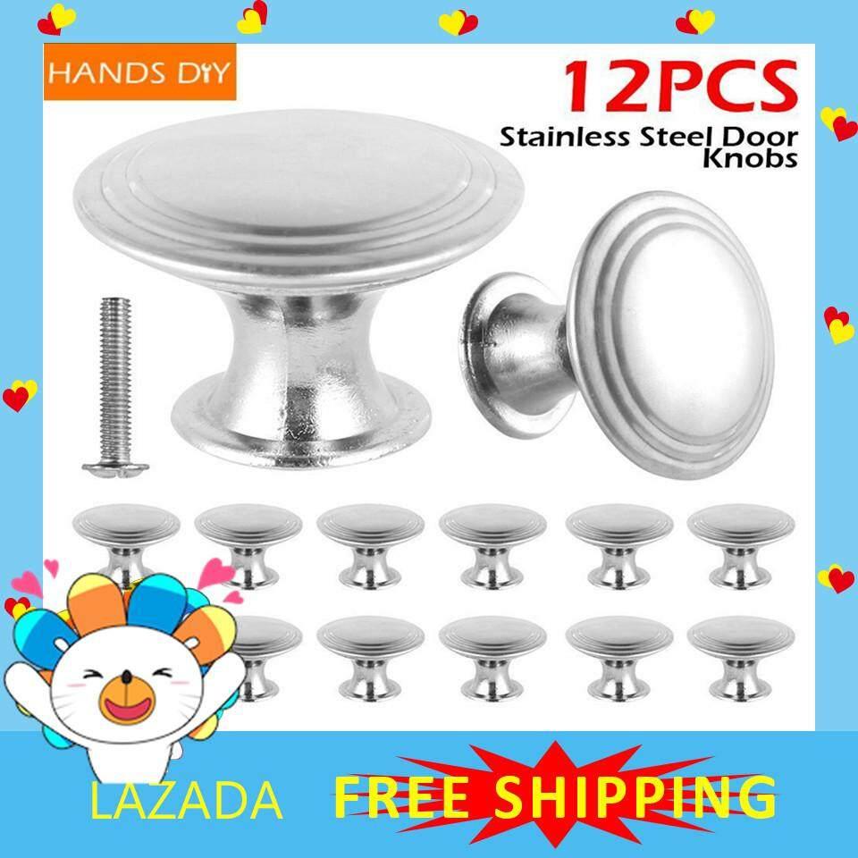 【Free Shipping】HANDDIY 12 Cửa Inox Núm Kéo Tay Cầm