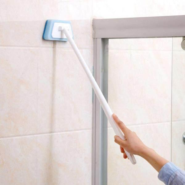 Bàn Chải Bọt Biển Cán Dài Cho Phòng Tắm Tường Làm Sạch Bàn Chải, Bồn Tắm Sponge Bàn Chải Sàn Gạch Bàn Chải