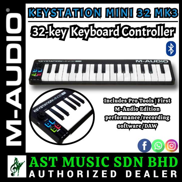 M-Audio Keystation Mini 32 MK3 32-key Keyboard Controller Malaysia